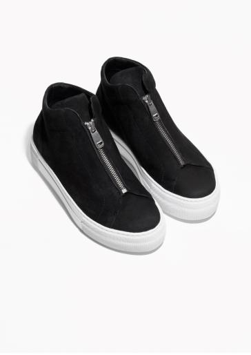 &OtherStories zip sneaker http://www.stories.com/gb/Shoes/Sneakers/Zip_Sneaker/582741-126325759.1
