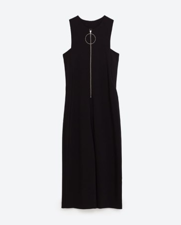 ZARA zipped jumpsuit http://www.zara.com/uk/en/woman/jumpsuits/zipped-jumpsuit-c663016p3996045.html