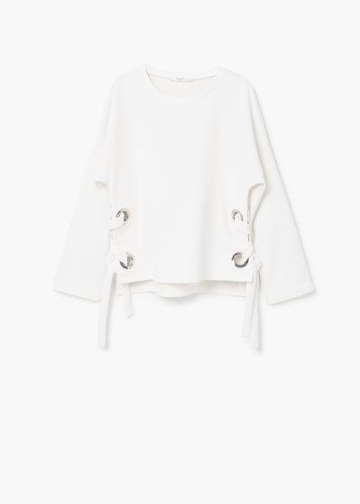 MANGO textured sweatshirt http://shop.mango.com/GB/p0/woman/clothing/sweatshirts/bow-textured-sweatshirt?id=83090242_01&n=1&s=prendas.sudaderas