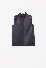 COS sleeveless leather top http://www.cosstores.com/gb/Women/Sale/Sleeveless_leather_top/239674-52759705.1#c-22755